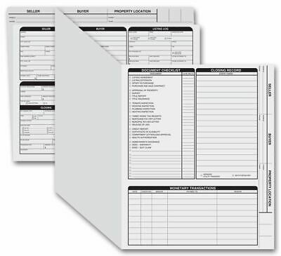 275 Real Estate Folder Right Panel List Letter Size Gray 11 34 X 9 58 - 50 Fo