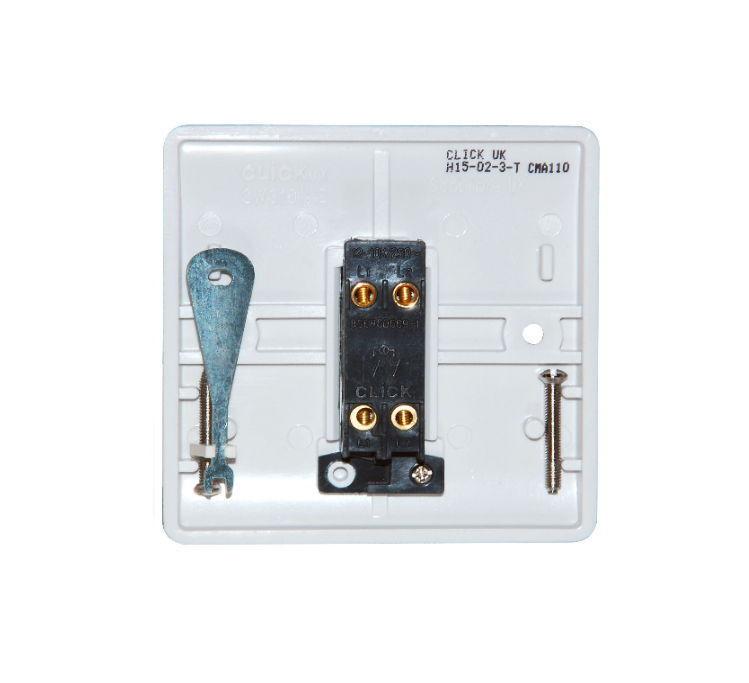 10 amp 1 gang emergency light test    secret key switch
