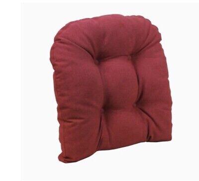 Klear Vu Gripper Non-Slip 17 x 17 Twillo Tufted Universal Dining Chair Cushion