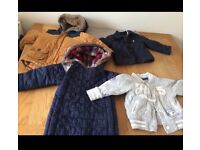 12-18 months, coat,joules coat,m&s snow suit,next jacket
