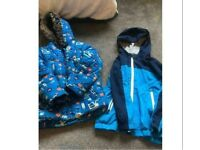 Coats, jumpers & wellies aged 3-4 years