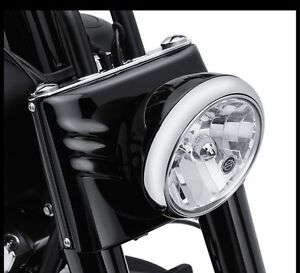 2017 Harley Davidson fatboy fork cover kit with headlight shell South Morang Whittlesea Area Preview