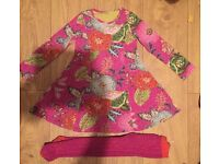 OILILY Dress & tights age 3
