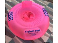 Zoggs inflatable baby ring