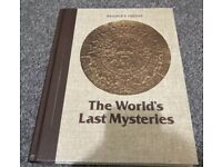 Readers digest the worlds last mysteries