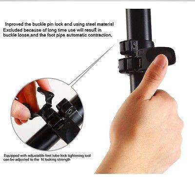 Professional Heavy Duty Monopod Fluid Head kit  DSLR Camera Camcorder 72 inch