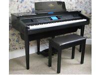 Yamaha Clavinova CVP 107 Digital Piano and Stool