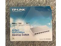 TP-Link 8port Desktop Switch - £8