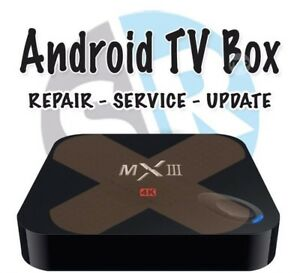 Android tv box repairs and sales and services