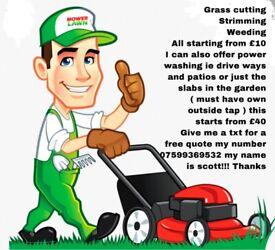 Gardening offered