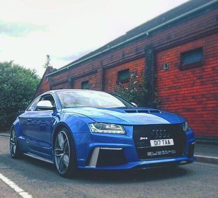 MUST SEE!! FULL Audi RS5 / A5 Conversion FULL Custom Made