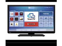Toshiba TV, SMART, SLIM, LED, with built in Wi-Fi, LESS THAN 6 months old