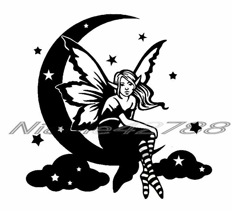 Home Decoration -  Fairy Sticker Decal