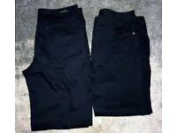 38-40 Waist Regular Leg, Gents Trouser Bundle x 2 Pairs. Jeans & Corded Trousers