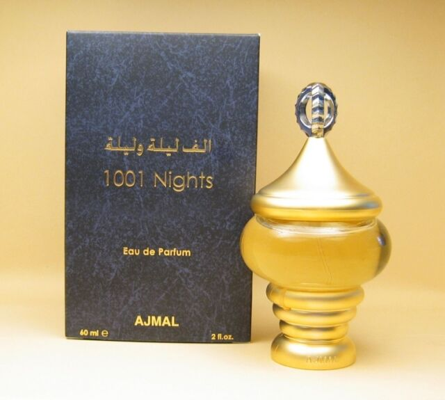 1001 Nights (Alf Lail O Lail)  60ml  Eau De Parfum with Spicy Woody  by Ajmal