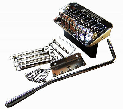 New Babicz FCH Full Contact Hardware Chrome Strat Tremolo Bridge-Clearance Price