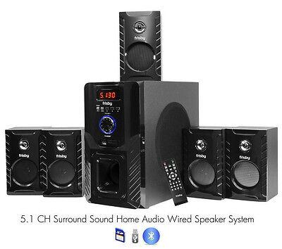 FS5000BT Bluetooth Home Theater 800 Watt Surround Sound 5.1 Speaker System