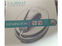 REMINGTON IPL-5000 i-LIGHT HAIR REMOVAL SYSTEM Only used a couple of times.