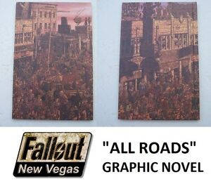 Fallout New Vegas All Roads Graphic Novel Collectors Item - New - Fast Post