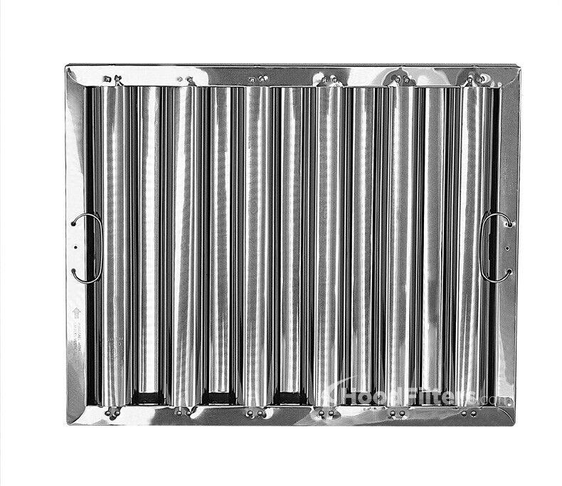 """16"""" X 20"""" X 2"""" Kleen Gard Stainless Steel Hood Filter"""