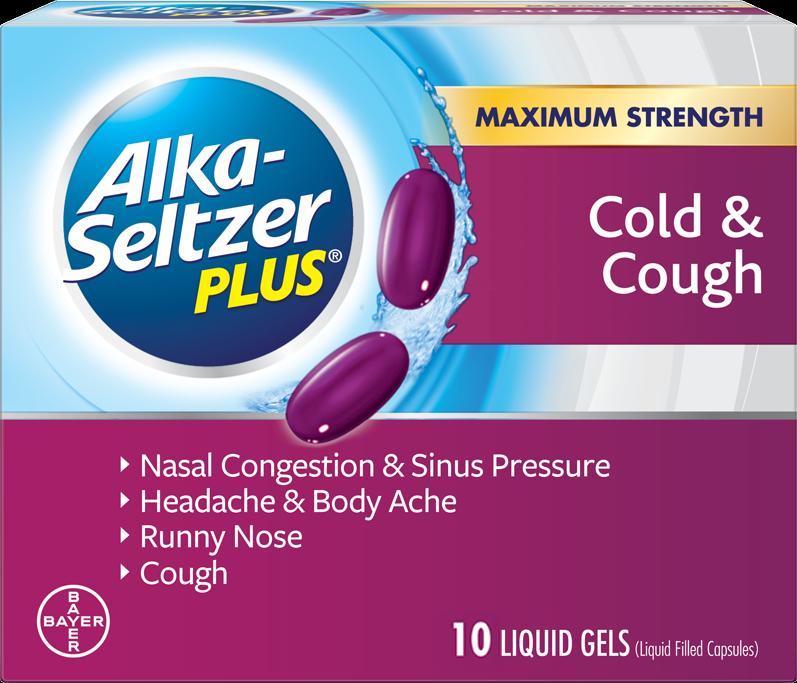 Alka-Seltzer Plus Cough & Cold Medicine Maximum Strength 20
