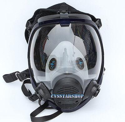 Paint Spraying Gas Mask Respirator Similar For 3m6800 Full Face Facepiece