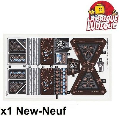 Lego - 1x Decal Sticker Chima 70226 Mammoth'S Frozen Stronghold New