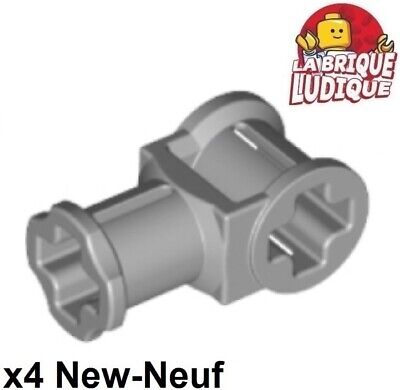 4211553⭐️ ⭐️10 x NEW LEGO 32039 AXLE CONNECTOR WITH HOLE LIGHT BLUISH GREY