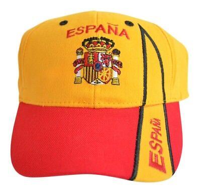 Cap Kappe Flagge Fahne Spanien Hut