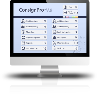 ConsignPro Silver Package, Consignment Shop Software & Scanning Gun