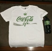 Coca-cola Coke shirt and bottle