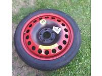 Space saver wheel for vauxhall zafira,vectra