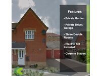 Amazing two bedroom to let with garden!