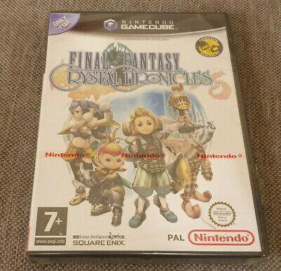 Nintendo GameCube Game Final Fantasy Crystal Chronicles New Damaged Spanish Ver