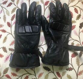 HIPORA ladies leather motorcycle gloves