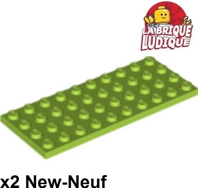 LEGO 2X PLATTE FLACH 4X10 10X4 GR N ZITRONE LIMETTE 3030 NEU