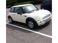 MINI COOPER 2003 PEPPER WHITE 1.6L