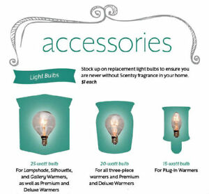 LOOKING FOR 25 watt Scentsy light bulbs for full size warmers.