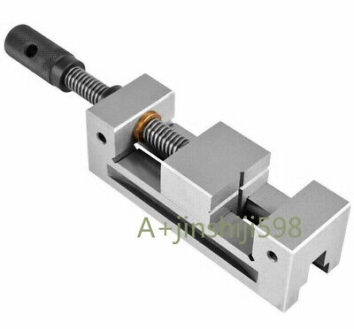 Wire Edm Part Precision Stainless Steel Edm 3 Vise Maximum 95 Mm Jaw Opening