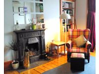Lovely 2 bedroom flat by Leith Links