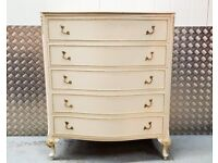 Olympus French Louis XV style Chest of Drawers