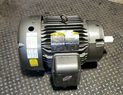 Baldor 5 Hp Electric Motor 230460 Vac 215tc Frame 3 Phase 1160 Rpm V400892.b01