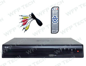 All REGION FREE Multi ZONE NTSC/PAL DivX USB DVD PLAYER