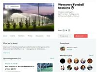 Weetwood Weekly Football Sessions - Players Wanted
