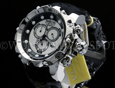 - NEW Invicta 52MM SEA DRAGON Venom Gen II WHITE MOTHER OF PEARL Chrono S.S Watch