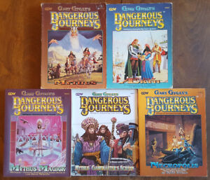 GARY GYGAX DANGEROUS JOURNEYS GDW RPG 1992