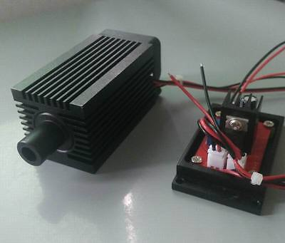 Focusable 1w Green Laser Module Dot Beam 9v Working Continuously 24 Hours