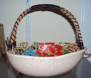 Antique Japanese Pottery Bowl