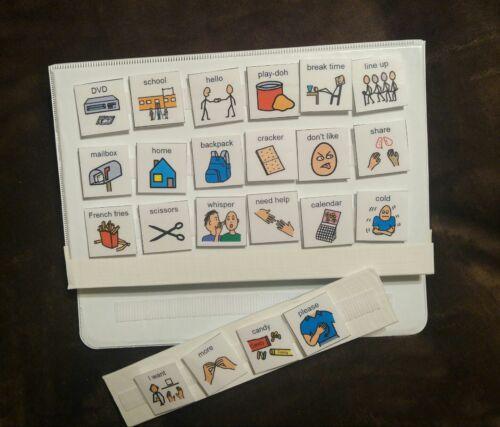 BEST PECS PICTURE EXCHANGE COMMUNICATION BOOK SYMBOLS AUTISM SPEECH TEACH LEARN
