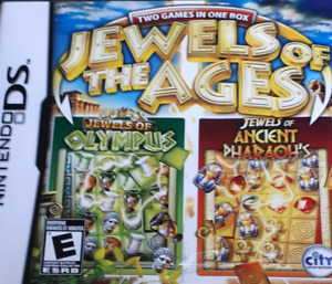 Jewels of the ages two games in one box Ds game